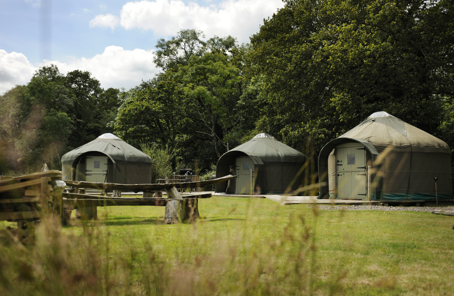 Brickles Yurts at Stock Gaylard for glamping holidays in Dorset